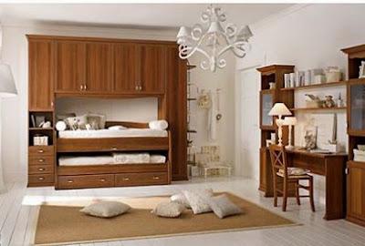 Dormitorios cl sicos para ni os infantil decora for Dormitorio nino 3 anos