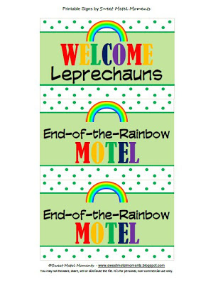 picture about Printable Leprechaun identify Lovable Metel Times: Totally free Printable - Leprechaun Lure Indicators