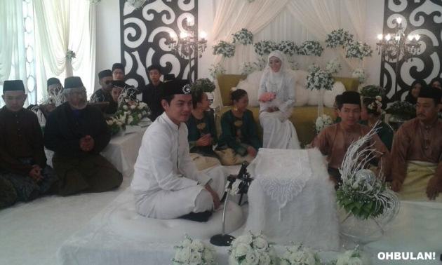 Gambar Majlis Perkahwinan Izzue Islam