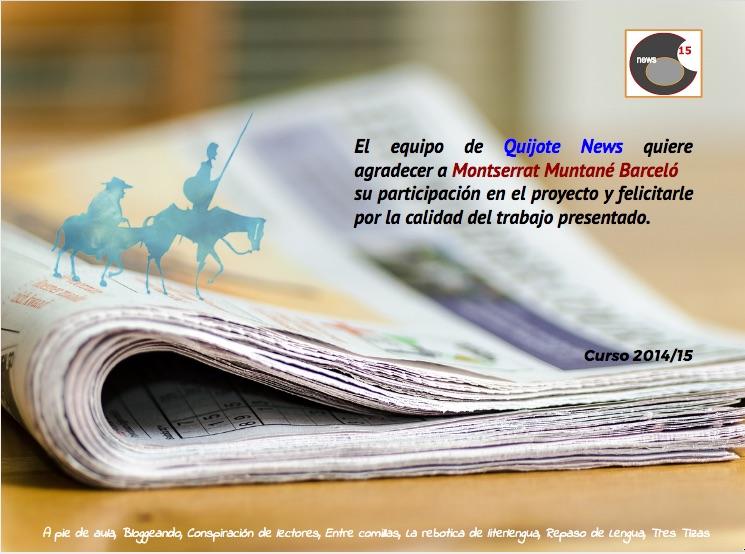 Participación Quijote News 2015