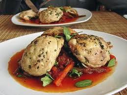 Pollo con Hueso al Vapor