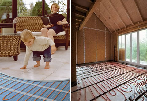 Calefacci n solar piso radiante - Cual es el mejor sistema de calefaccion ...