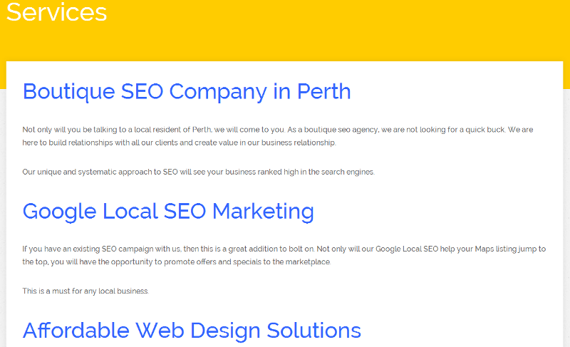 trusted marketing company in Perth