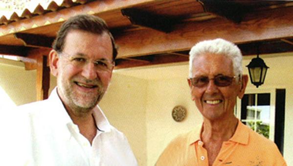 El Supremo salva a Rajoy de un juicio por los cuidados de su padre pagados con fondos públicos