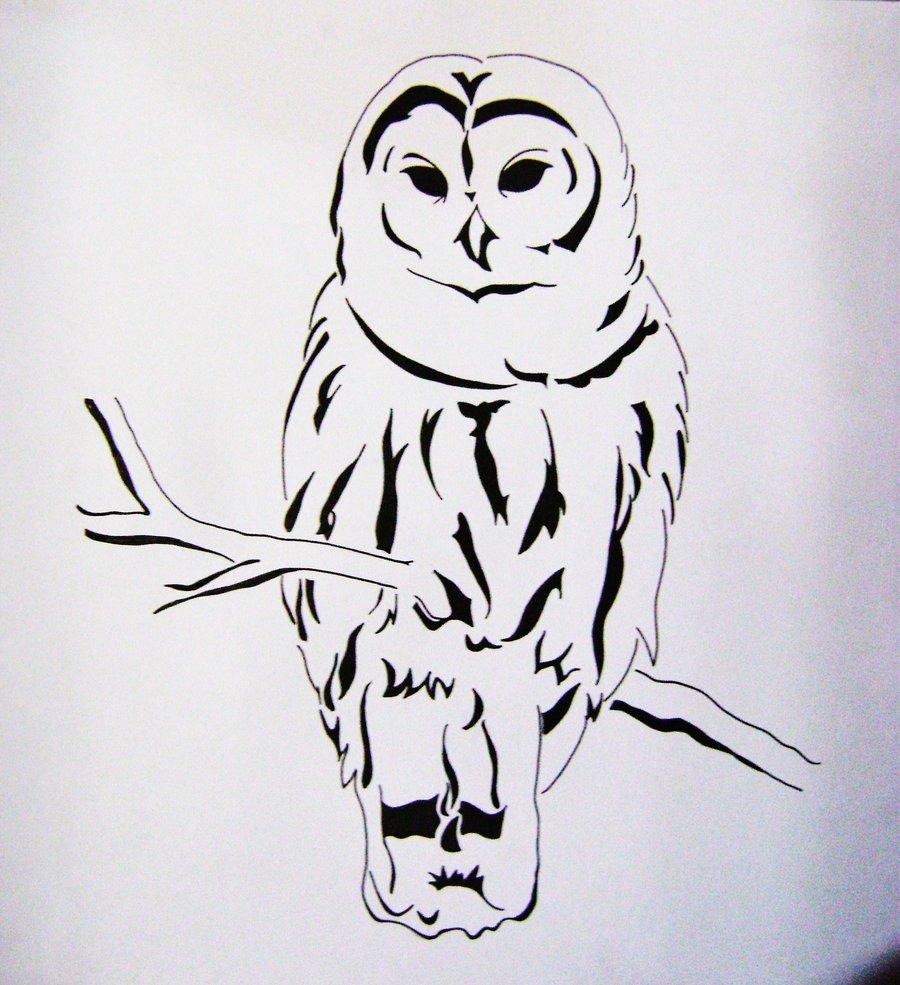 Dibujos En Lapiz De BUHO