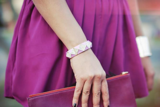 Baublebar Pink Cuff Jewellery