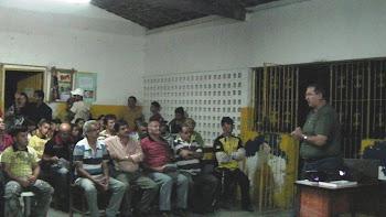 PALESTRA NA ESCOLA INTERMEDIÁRIA JOÃO XXIII - EM ALTO BONITO - DISTRITO DE BONITO - PE