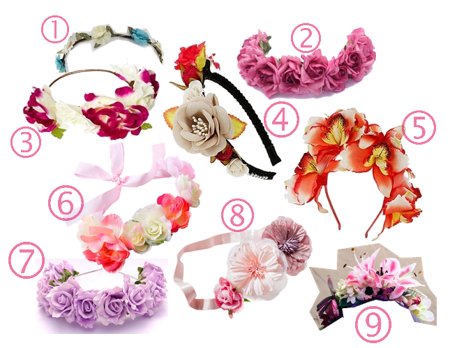 coroncine di fiori da acquistare online