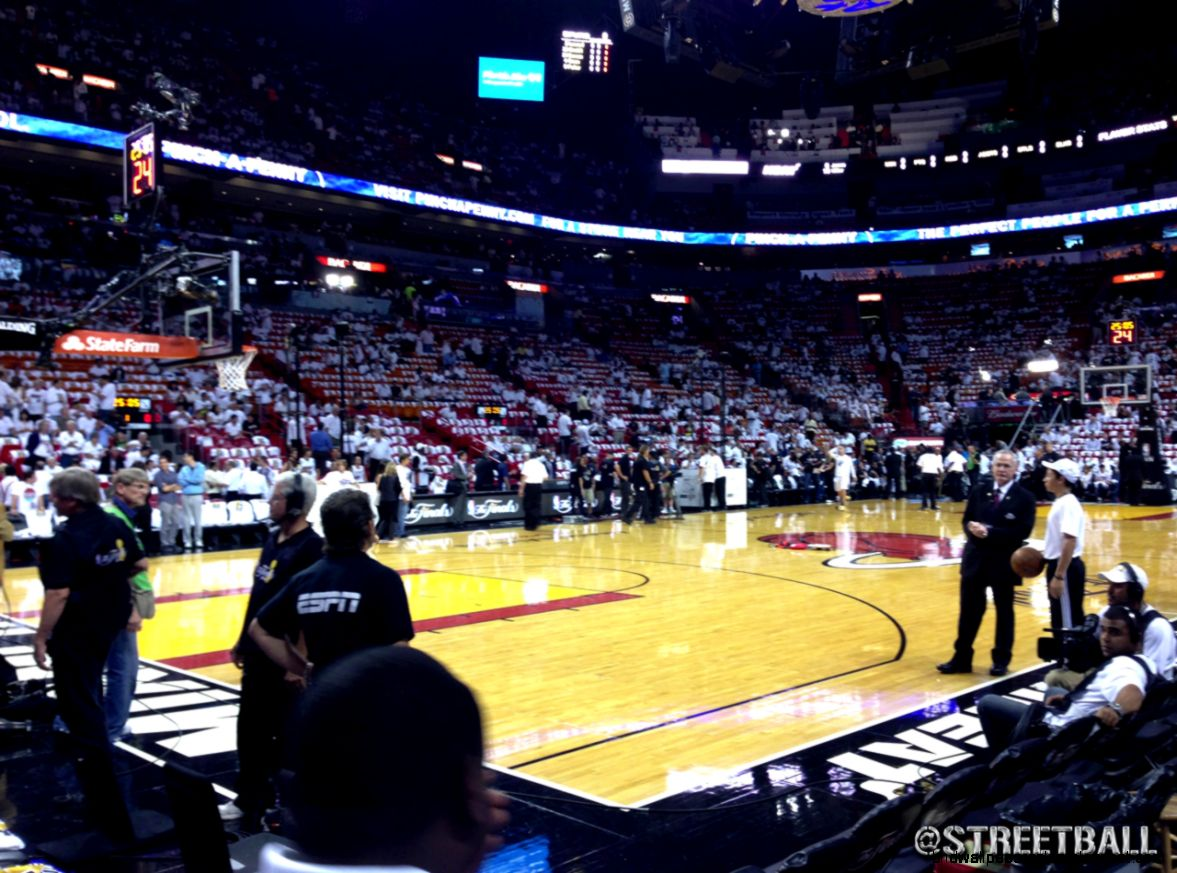 Miami Heat NBA Finals Game   Streetball
