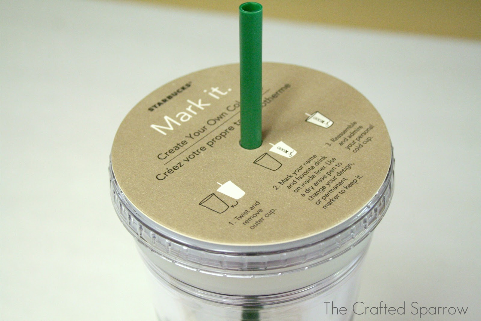 Diy glittered starbucks tumbler the crafted sparrow diy glittered starbucks tumbler pronofoot35fo Gallery
