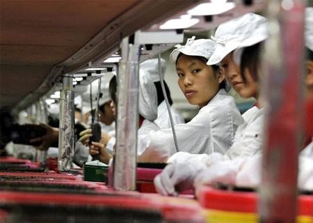 La famosa fábrica de Apple en China, donde ya son 17 los trabajadores que se han suicidado