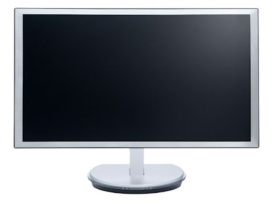 AOC i2353Fh LCD Full HD LED backlight IPS monitor Front