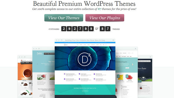 Free Download latest version of ElegantThemes - Themes & Plugins Pack [January 2016 Update]
