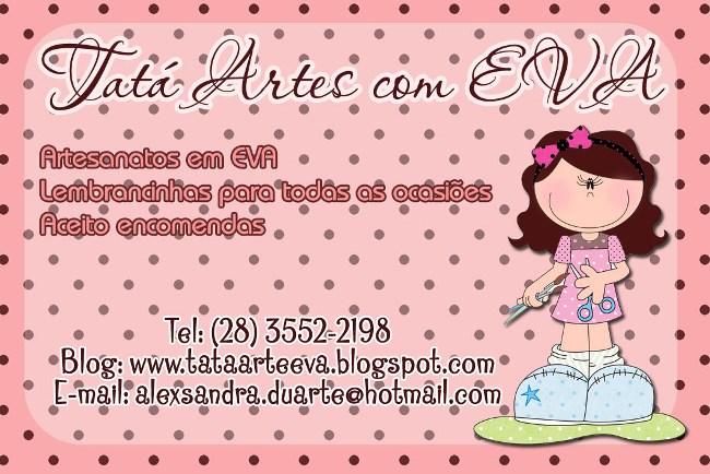 Tatá Artes com EVA
