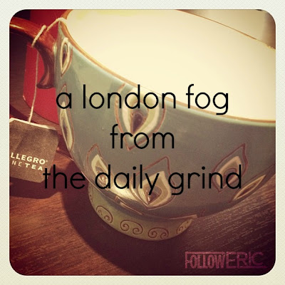 a london fog from the daily grind