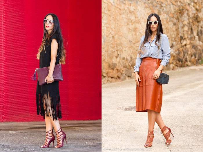 Blogger de moda de Valencia con zapatos bonitos de marcas Isabel Marant y Jimmy Choo