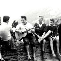 Mit Freunden aus Bremen im Sommer 1960