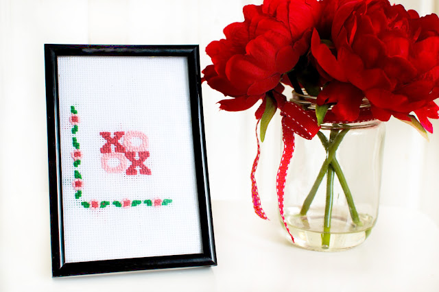 Handmade wall art. Cross stitch designs