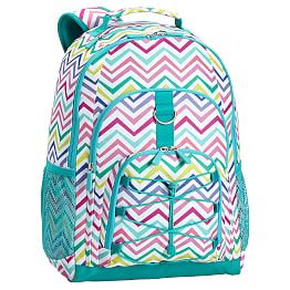 Multi Chevron Backpack from Pottery Barn Teen