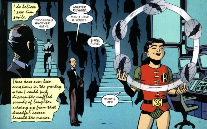 Batgirl and robin romance - photo#18