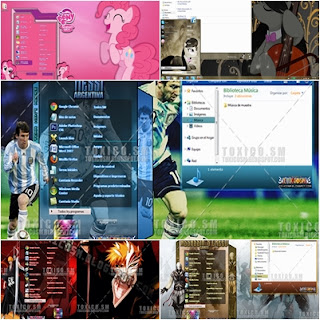 Windows 7 Visual Styles Tema