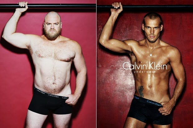 Calvin Klein, John Doe vs. Freddie Ljungberg