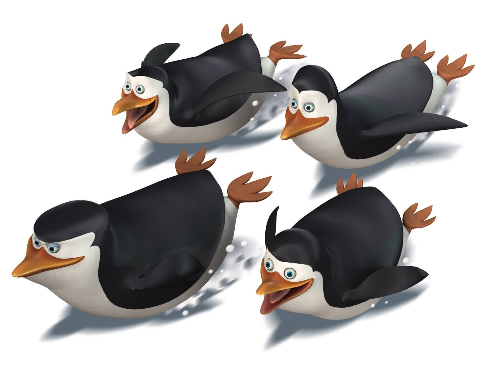 pinguins of madagascar movie wallpaper 3d animation