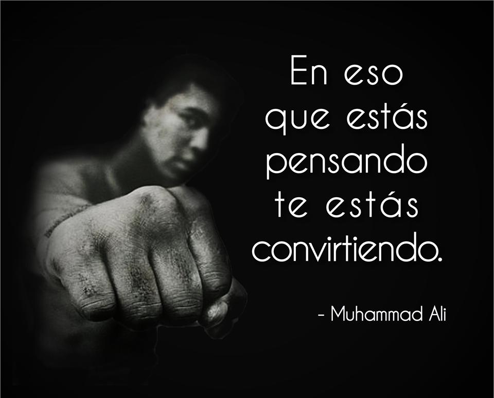 Frase de Muhammad Alí