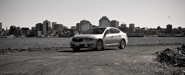 2014 Kia Cadenza Halifax Harbour skyline