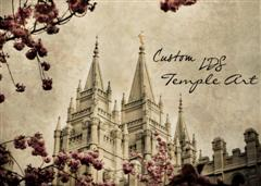 Custom LDS Temple Art