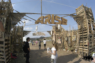 Gate to the Main Stage, ARISE Music Festival, Friday August 16 2013