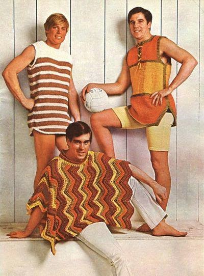 crochet mens collection