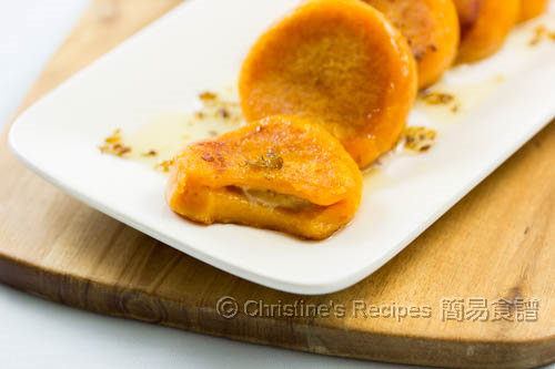 香蕉番薯餅 Sweet Potato Cakes with Banana Fillings02