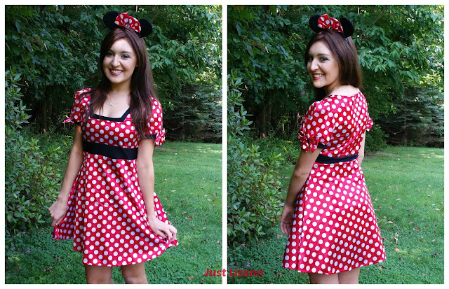 Adult minnie mouse costume review