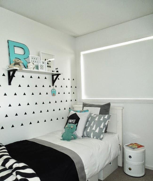Boho deco chic un dormitorio infantil con toques turquesa - Dormitorios con estilo ...