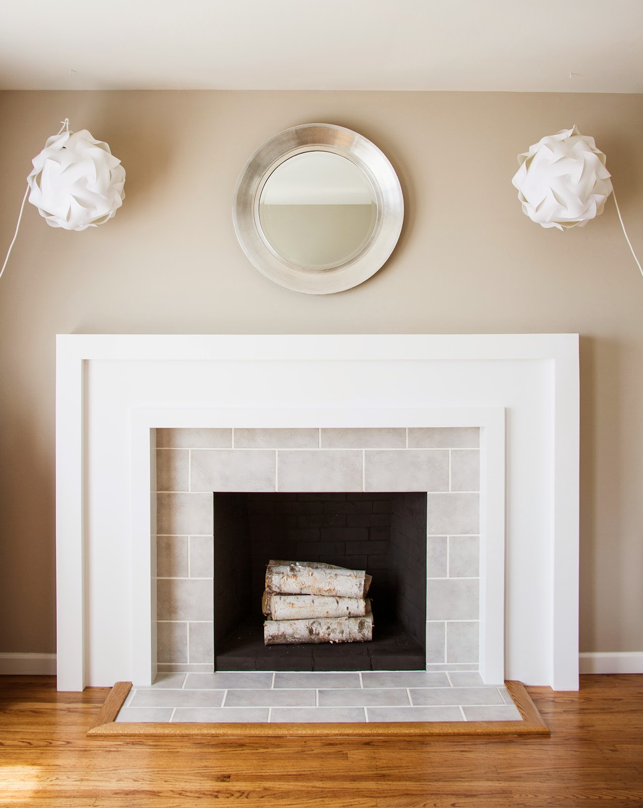 Tile Fireplace Makeover Swingncocoa Fireplace Makeover Part 3 Deliciously Done