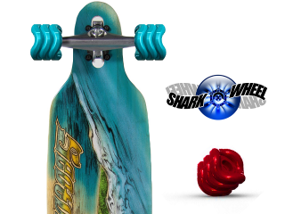 shark wheels skateboarding
