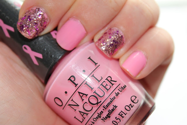 OPI Pink of Hearts 2012 - I think in Pink