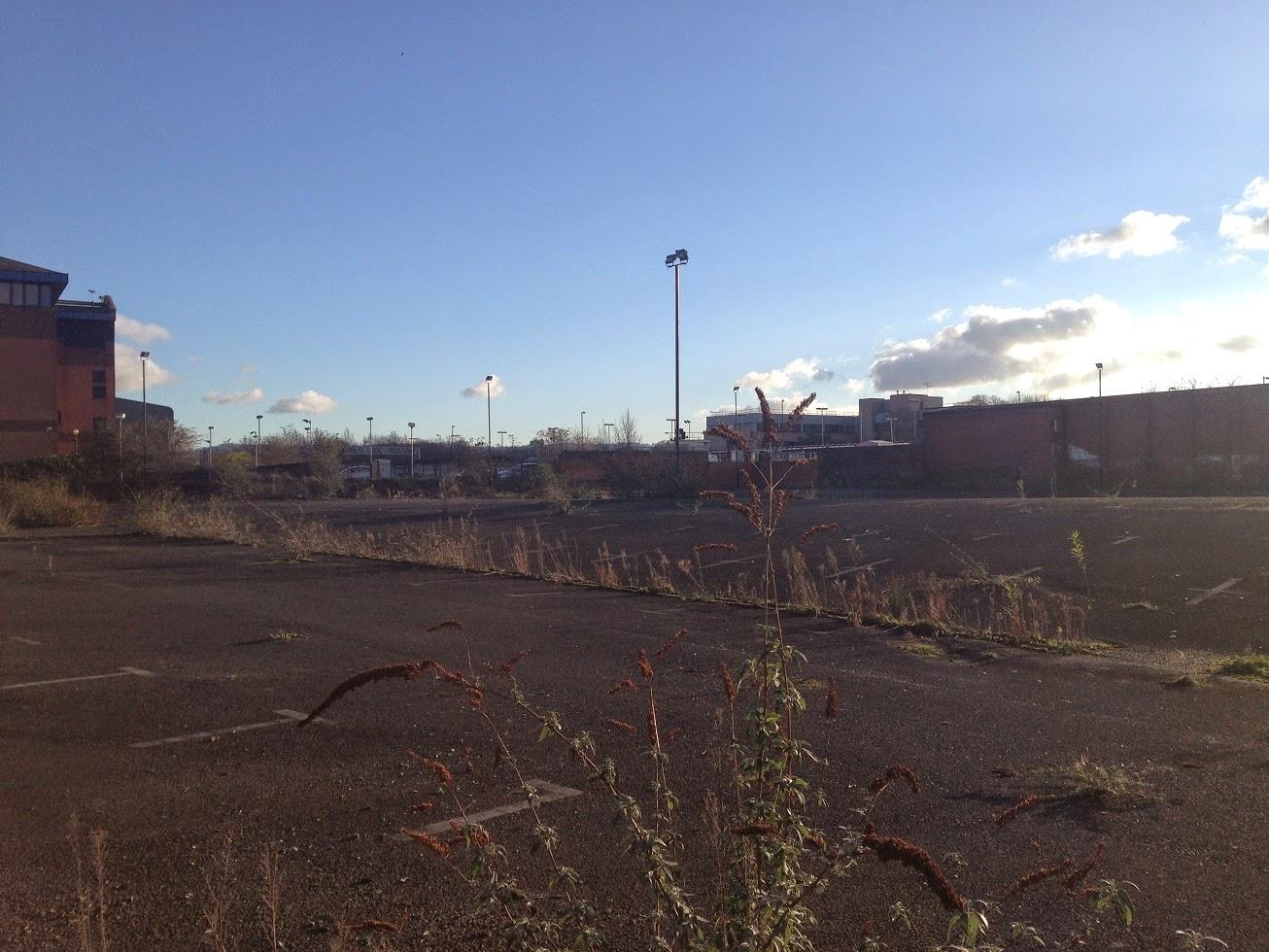 Abandoned car park, Gloucester