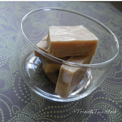 Easy Three-Ingredient Peanut Butter Fudge | Tried & Twisted