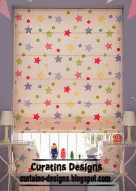Best ways to make roman shade unique designs ideas colors - Roman shades for kids room ...