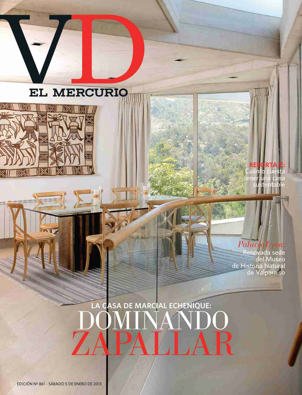 Publicaci n revista vivienda y decoraci n n 861 for Vivienda y decoracion online
