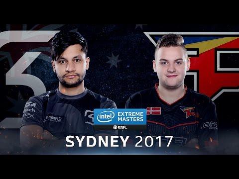 [IEM Sydney 2017]Chung kết SK vs FaZe [Train] Map 1 Ngày 07/05/2017