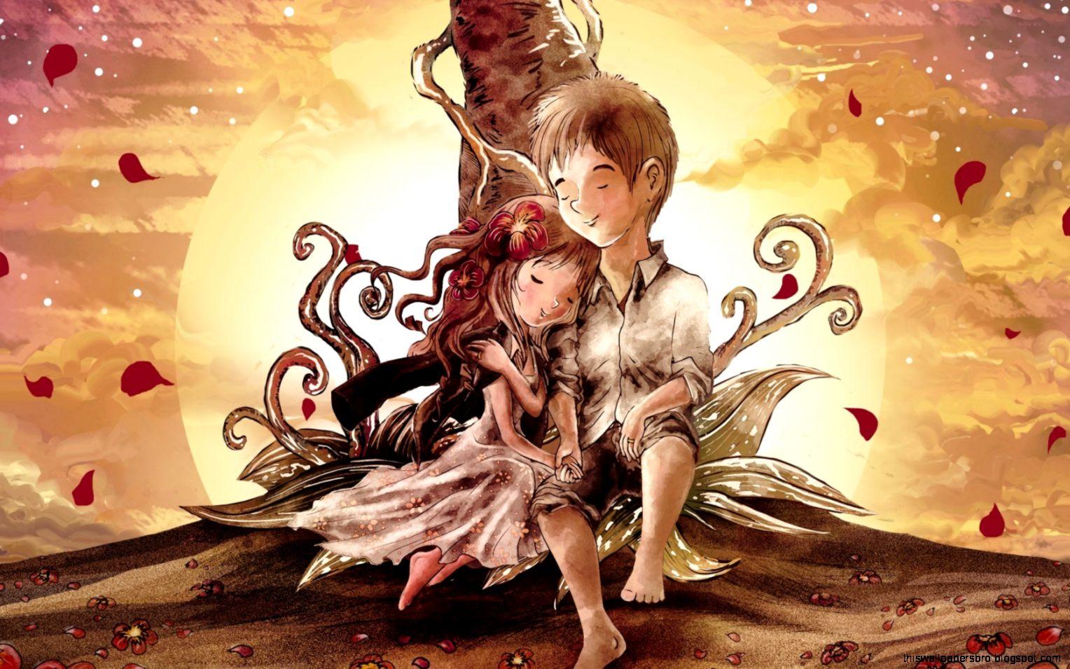 Anime Girl Boy Hd Wallpaper Full Hd Widescreen Wallpaper Free This
