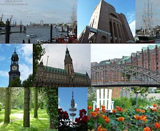 Hamburg Germany Points of interest, sighseeing, attractions and excursions.