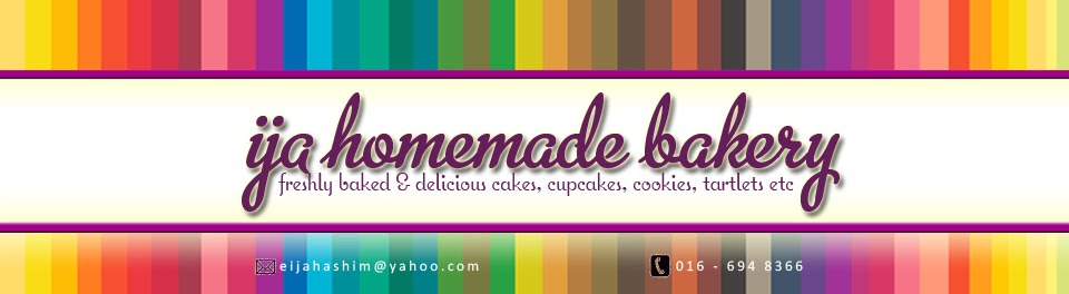 IJA HOMEMADE BAKERY | freshly baked and delicious cake, cupcake, cookies, tartlet and many more!! |
