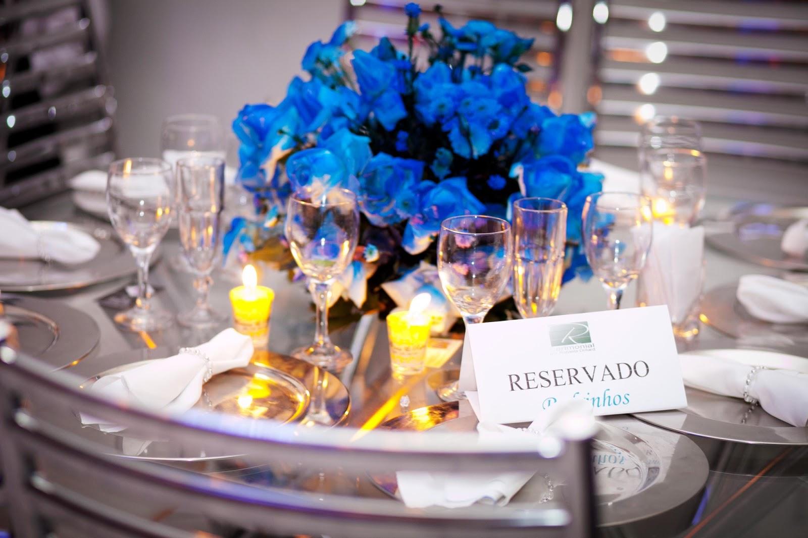 decoracao de casamento azul escuro e amarelo:Ficando noiva: Decoração: Azul e Amarelo