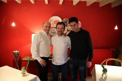 Esteban Capdevila, Nacho Manzano y Rubén Valbuena. Blog Esteban Capdevila