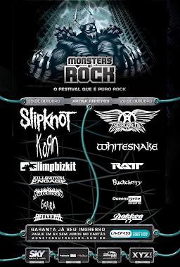 Monsters Of Rock 2013 - São Paulo