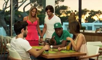 Cláudio Viana já participou num video clip